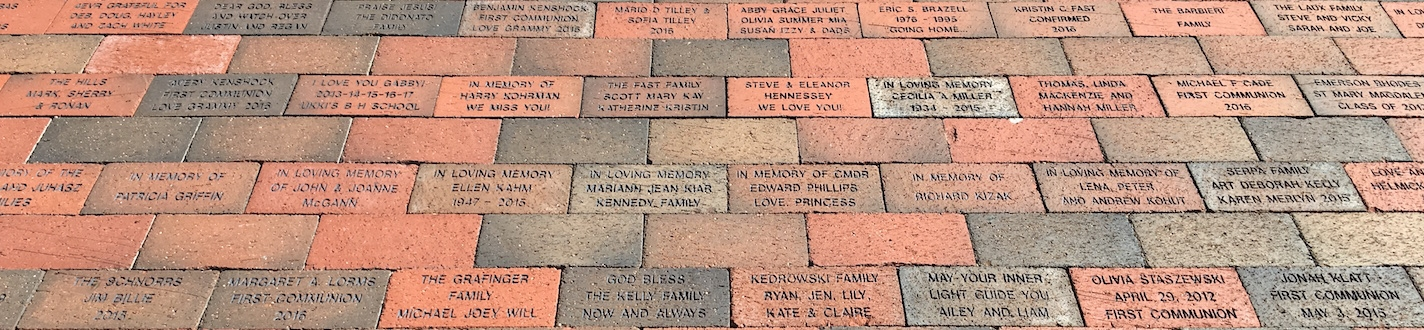 Commemorative Brick Banner